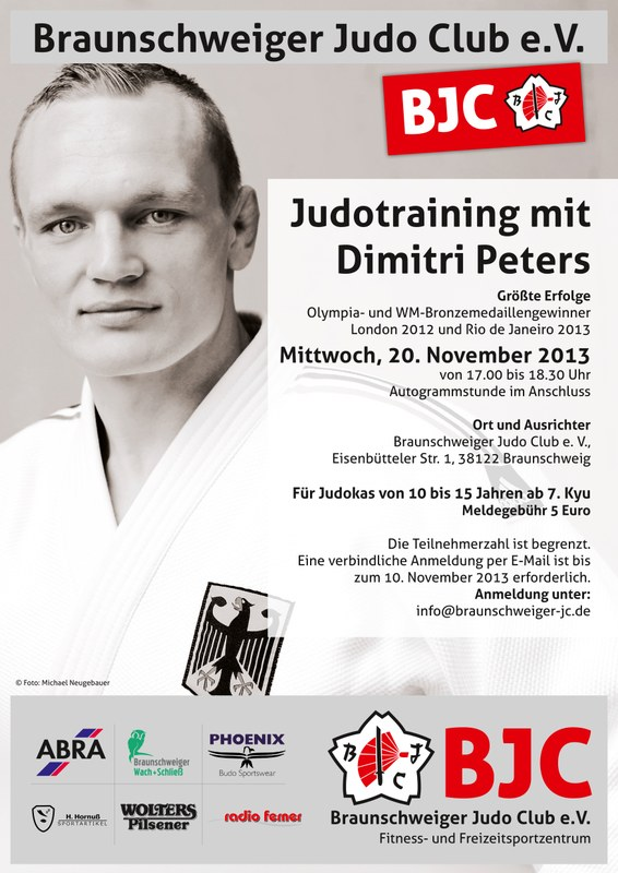 Judo-Training beim BJC